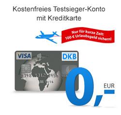 100 Euro Urlaubsgutschein bei der DKB sichern