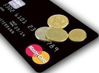 Laden Sie Guthaben auf die Schwarze Kreditkarte, das attraktiv verzinst wird