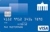 Deutschland Kreditkarte VISA