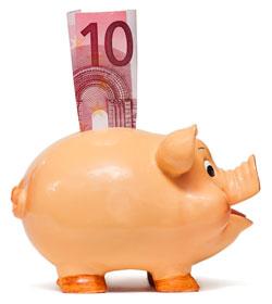 Geld sparen beim Girokonto
