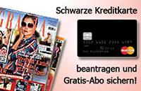 GRAZIA-Abo zur Schwarzen Kreditkarte