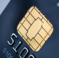 Prepaid-Kreditkarte mit Chip