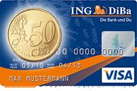 Mit der ING-DiBa Kreditkarte bei dm sparen