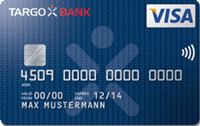 TARGOBANK Online-Classic Visa Kreditkarte