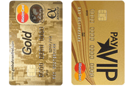 Gebührenfrei MasterCard GOLD Kreditkarte und payVIP MasterCard GOLD Kreditkarte
