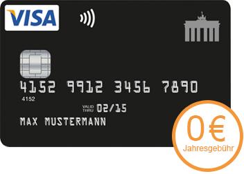 Deutschland Kreditkarte mit Cashback